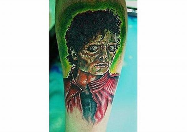 16 bad Michael Hackson tattoos (16 pics)