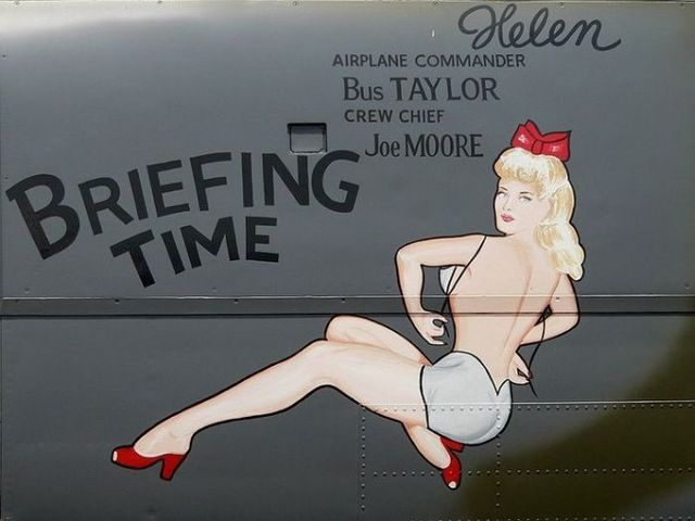 Art on aircrafts (22 pics)