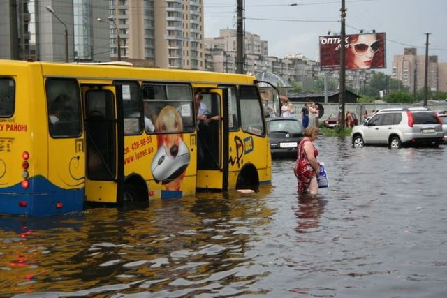 Flood in Kiev (33 pics)