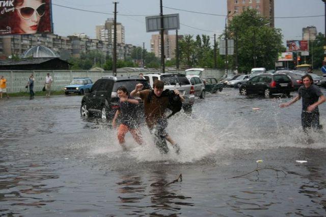 Flood in Kiev (33 pics)