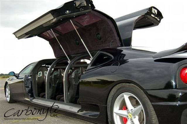 Transformation: from the super car into a limo (16 pics)
