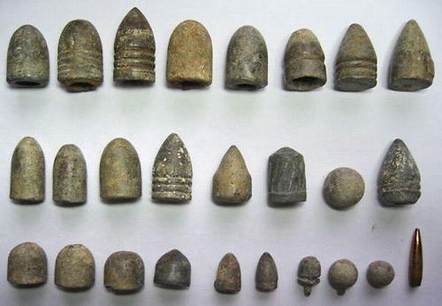 Ancient bullets (7 photos)