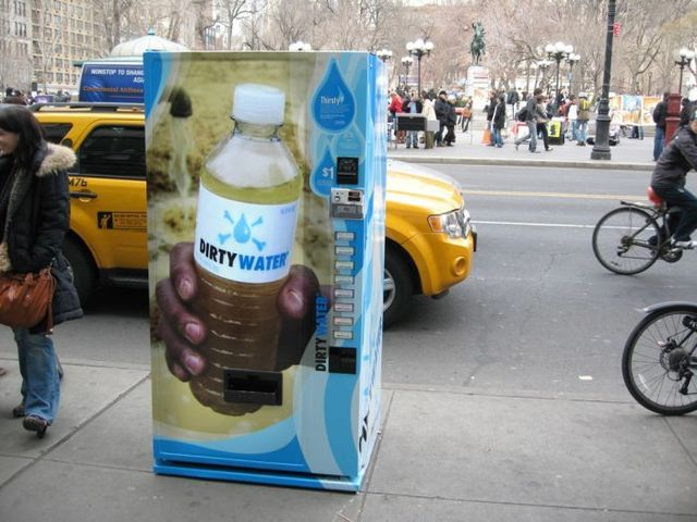 Vending machine with dirty water. Anyone ? (19 pics+1 video)
