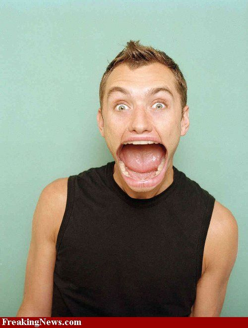 What if the stars all had a big mouth! (15 pics)