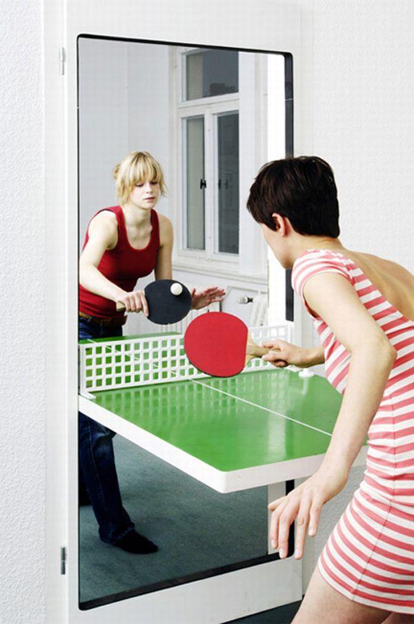 Ping Pong Door (4 pics)