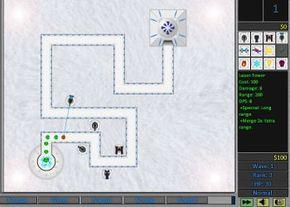 Snow Virus TD