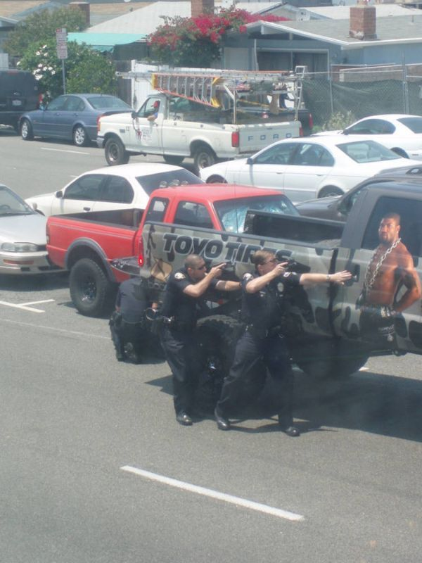 'Rampage' lead police on a high speed chase (10 pics)