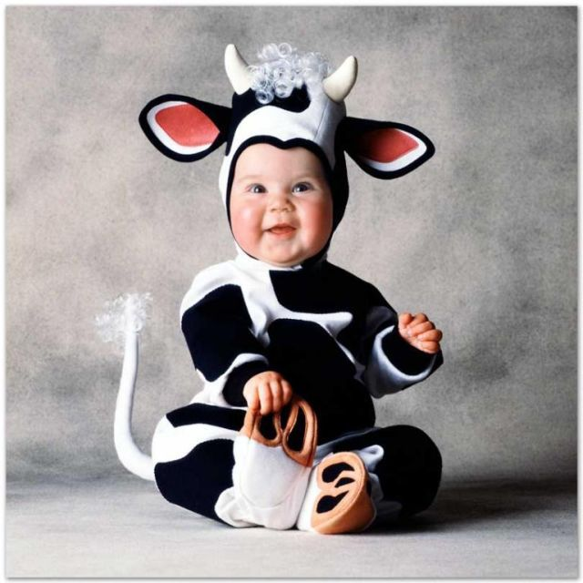 Positive emotion of the day. Children in fun costumes (27 pics)