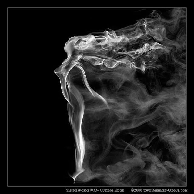 The magic of smoke (37 pics)