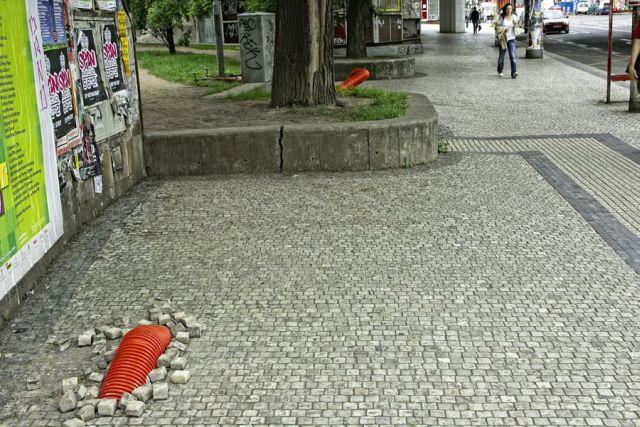 The attack of the Mongolian Death Worm in Prague (8 pics)