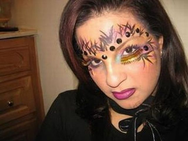 Bad makeup (34 pics)