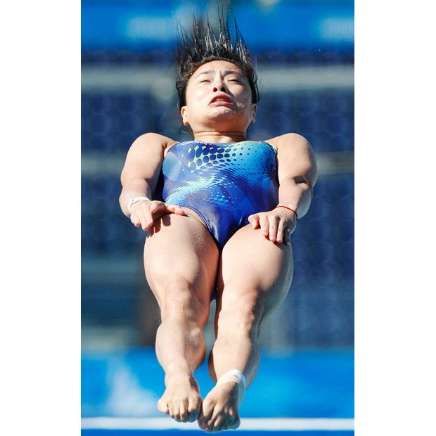 Funny facial expressions of divers. Part 2 (21 pics)