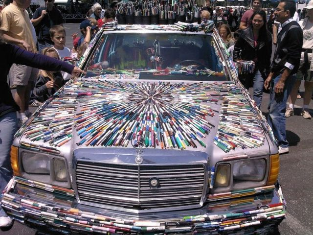 Mercedes Pens – a new car with lots of colors! (26 pics)