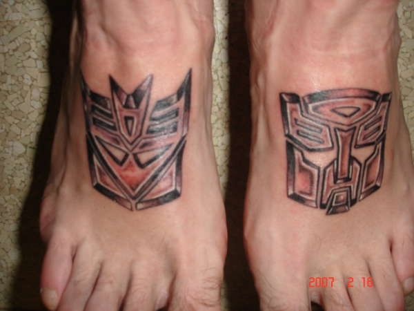 Autobots Tattoo Designs