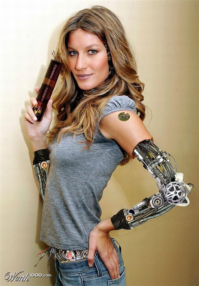 Celebrity cyborgs (41 pics)