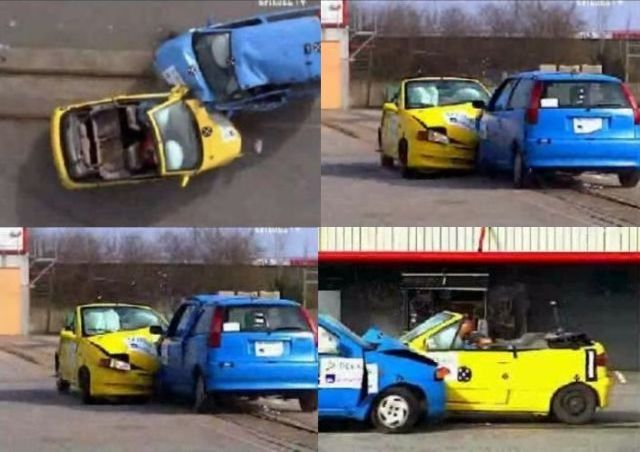 The test a car must take… (41 pics)