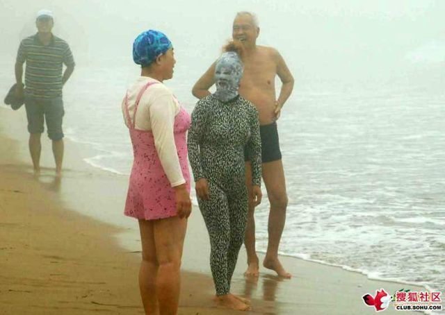 "The beach ""suit"" - the newest fashion ;) (6 pics)"