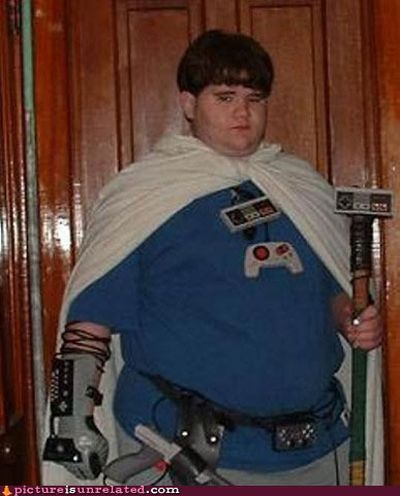 Selection of fun video game console costumes (33 pics)
