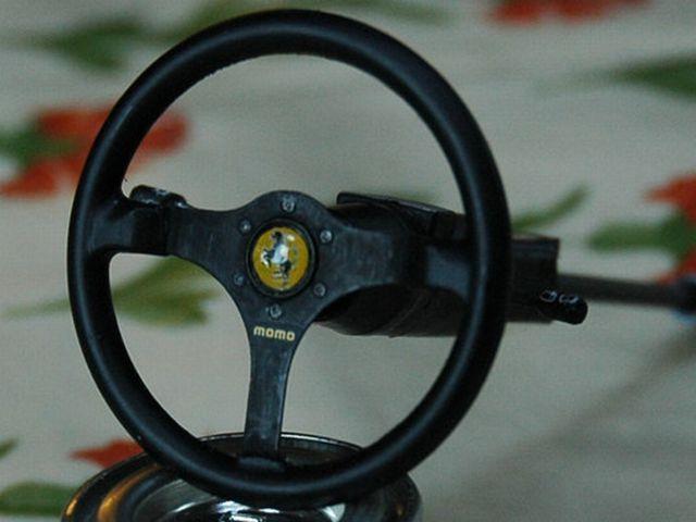 Miniature Ferrari F40 (45 pics)