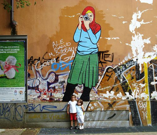 Drawing on the walls of the city (20 pics)