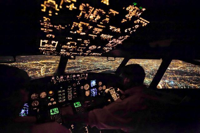 The view through the eyes of a pilote (20 pics)