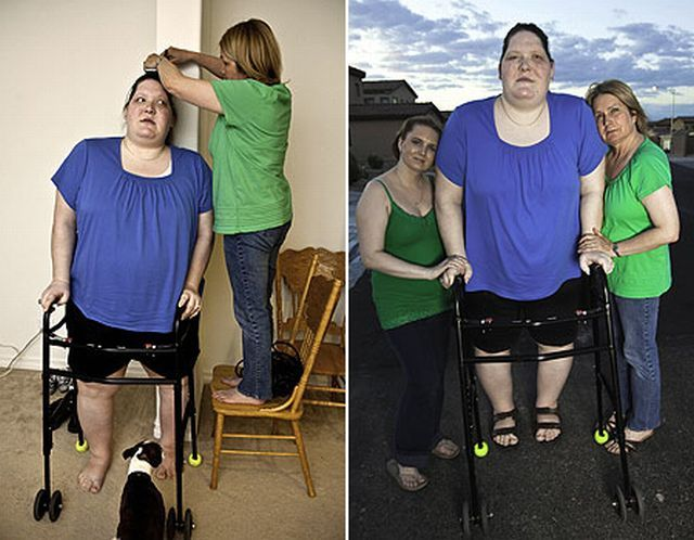 One of the biggest and heaviest women in the world (7 pics)