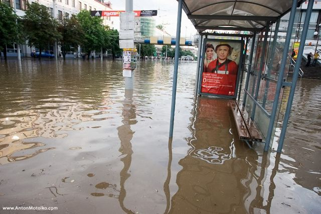 The flood in Minsk (31 pics)