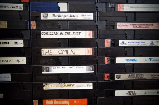 VHS tapes for life (5 pics)