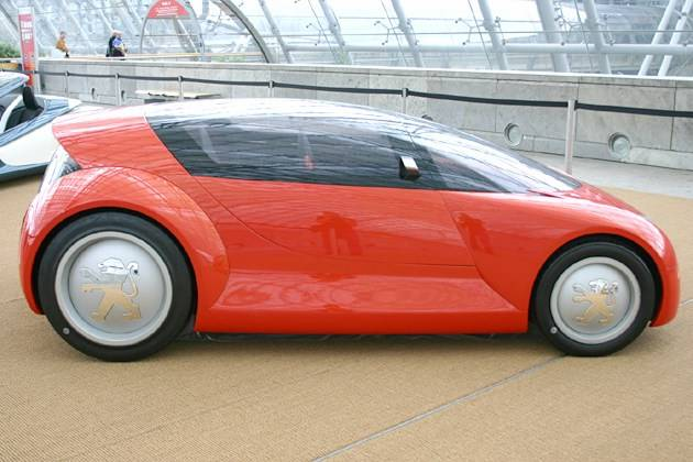 Cars of the near future (16 pics)