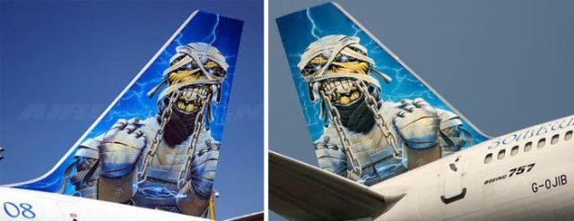 Cool paintings on airplanes (30 pics)
