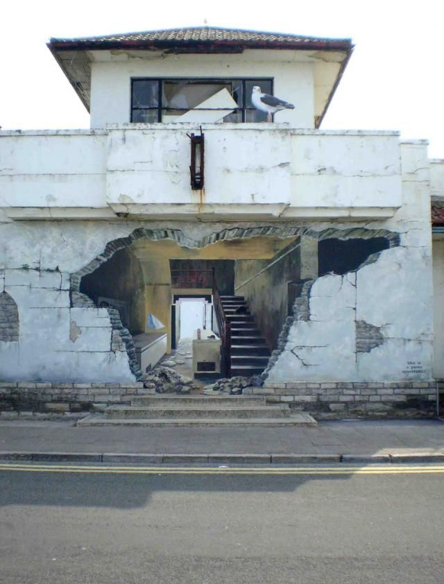 Walls drawings (50 pics)