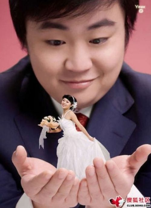 "Unusual trend – the world of ""miniature brides"" (15 pics)"