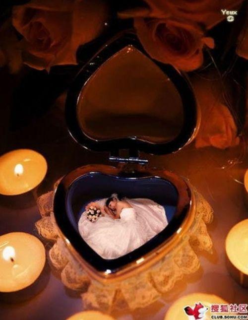 "Unusual trend – the world of ""miniature brides"" (15 pics)"