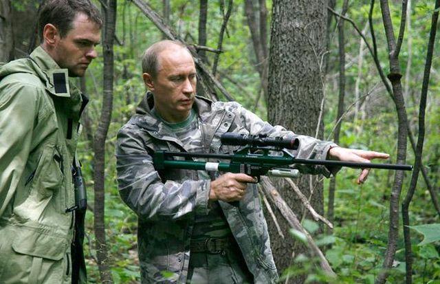 Vladimir Putin – a real action man! (23 pics)