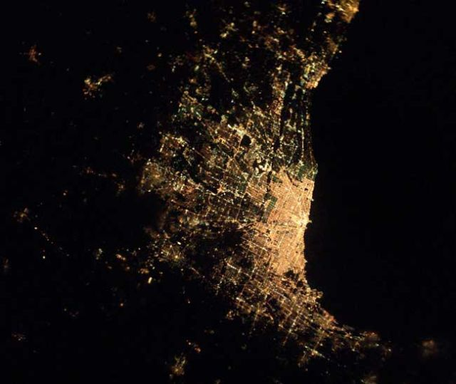 Cities At Night Seen From Space 21 Pics Izismile Com