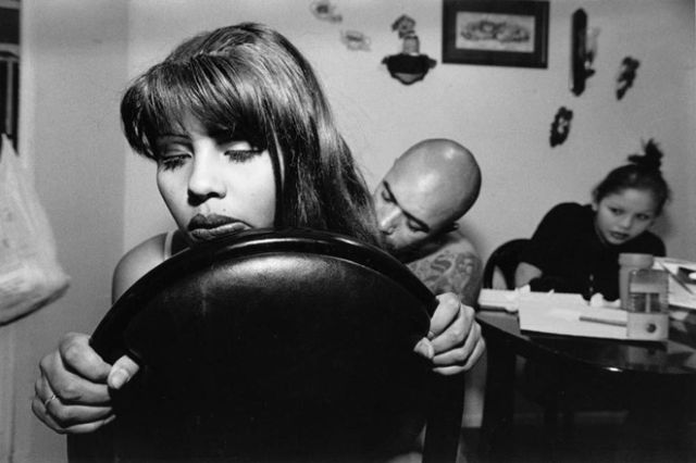 Beautiful black and white photographs of youth involved in