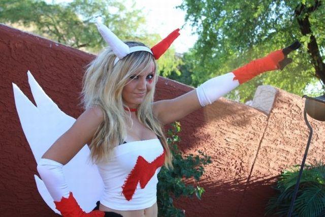 Jessica Nigri in a Pokemon costume (36 pics)