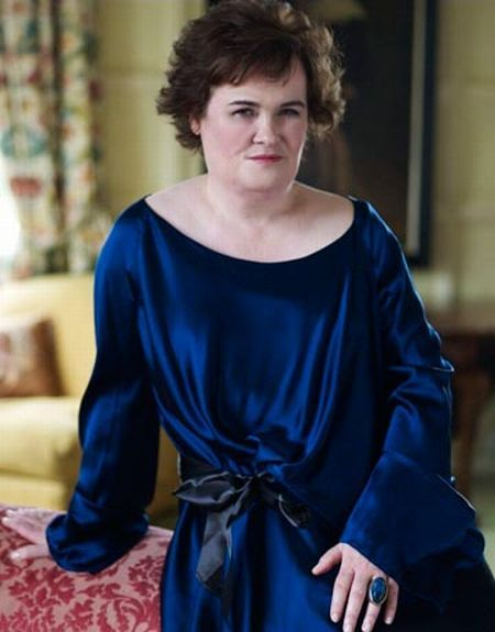 Susan Boyle's great makeover (9 pics)