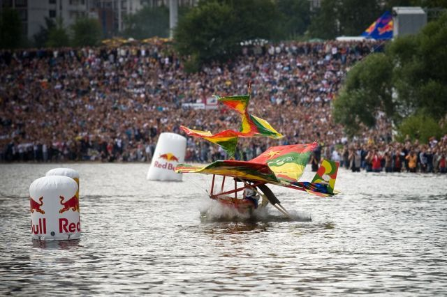 Red Bull Flugtag in Moscow (38 pics)
