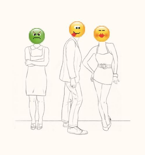 Love with emoticons by Tal Drori (10 pics)