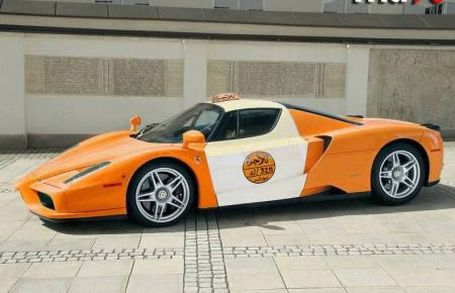 Interesting taxi cabs. Personally, I have never seen something like that (12 pics)