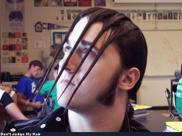 Hairstyles can be different (49 pics)