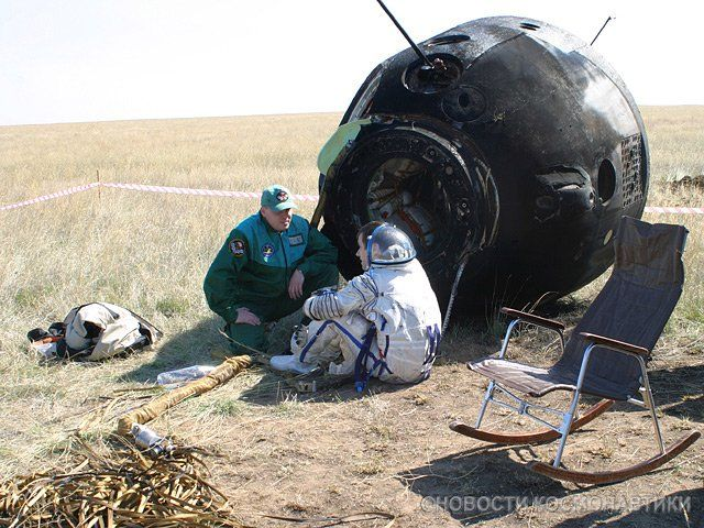 This Is The Landing Of A Soyuz A Russian Spacecraft 12