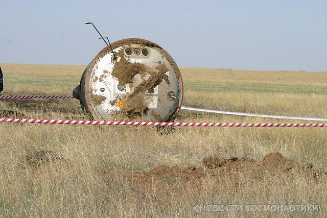"This is the landing of a ""Soyuz"", a Russian spacecraft (12 pics)"