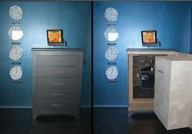 How to organize a secret room in your house (11 pics)