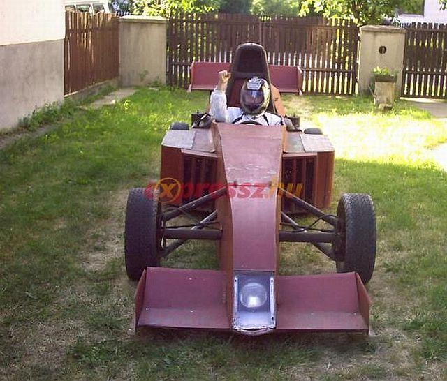 Home made Formula One car (10 pics)