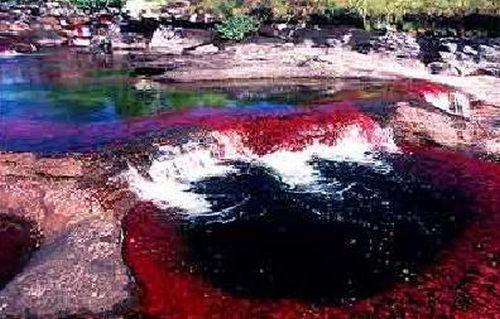 """Rainbow"" river (21 pics)"