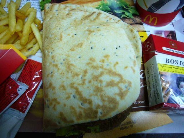 McArabia – the most popular McDonalds' meal in the Middle East (7 pics)