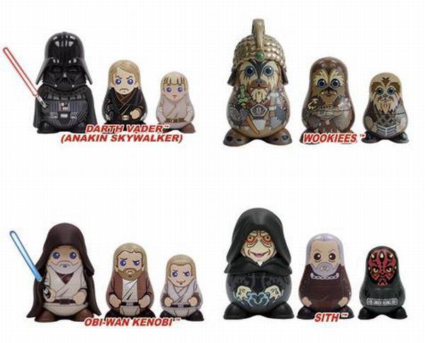 Matryoshka dolls can be different (22 pics)