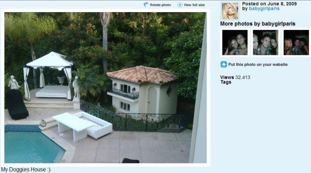 House for Paris Hilton's dogs (12 pics)